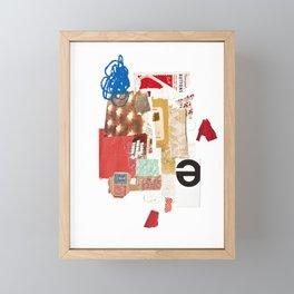 Red Framed Mini Art Print