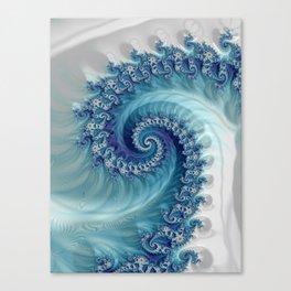 Sound of Seashell - Fractal Art Canvas Print