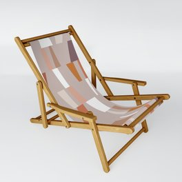 Neutral Geometric 03 Sling Chair