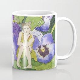 Pansy Faery Coffee Mug