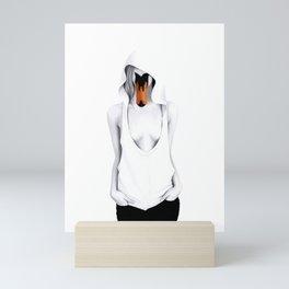 Swan lady Mini Art Print