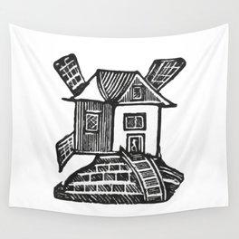 Windmill Wall Tapestry