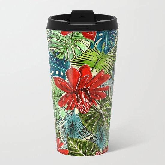 My Tropical Garden 3 Metal Travel Mug