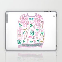 Ugly (but cute) Christmas Sweater Laptop & iPad Skin