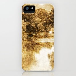 in flumine Wangerland iPhone Case