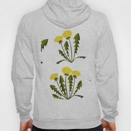 Seamless pattern with dandelions Hoody
