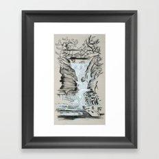 Local Gem # 5 - Lick Brook Framed Art Print