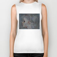 ballerina Biker Tanks featuring Ballerina by Michael Creese