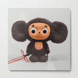 Cheburashka: The Force Awakens Metal Print