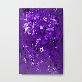 Violet Chaos Metal Print