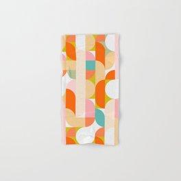 Festive Geometry - Pattern Hand & Bath Towel