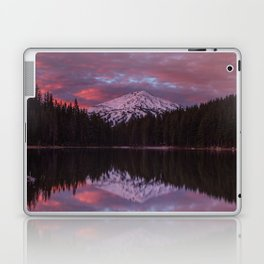 Mt. Bachelor sunrise reflection Laptop & iPad Skin