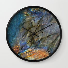 LABRADORITE Wall Clock