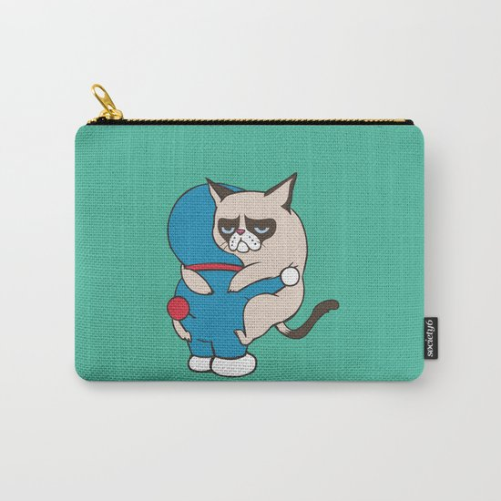 Cat Hugs Carry-All Pouch