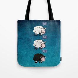 Bored Sheep Tote Bag