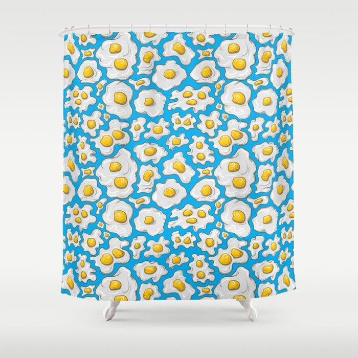U.R.D. Eggman Shower Curtain