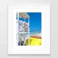 italy Framed Art Prints featuring Italy by Sébastien BOUVIER