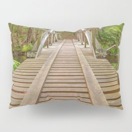 Forest Track Bridge Pillow Sham