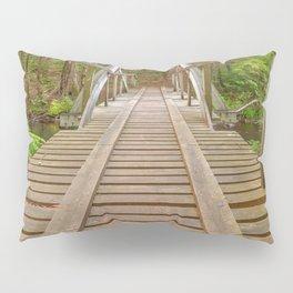 Forest Track Bridge Pillow Sham