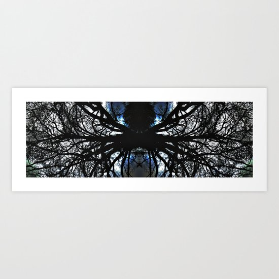 Treeflection VI Art Print
