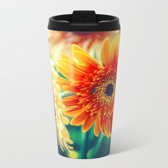 Sunny Love II Metal Travel Mug