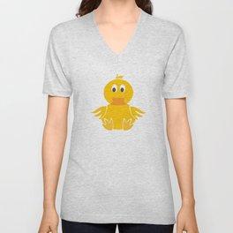 Quack Quack Duck Unisex V-Neck