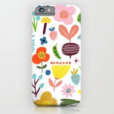 Spring Flower Pattern Slim Case iPhone 6
