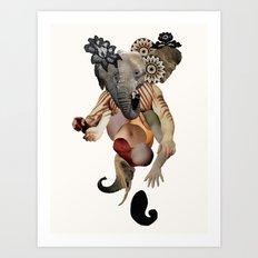 Ganesh Lagerfeld Art Print