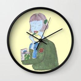 The girl from NASA Wall Clock