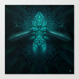 Genomorphic - Fractal Manipulation - Visionary Canvas Print