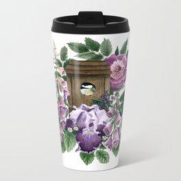 Garden Home Metal Travel Mug
