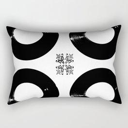 Records Rectangular Pillow
