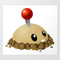 potato Art Prints featuring Potato Mine by ThisTinyBean.