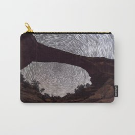 Night sky at Owachomo Bridge Carry-All Pouch