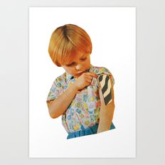 The Kids Are Infected (02 of 02). Art Print