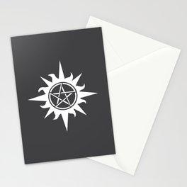 Pentagram Compass Sun Runes Satan Gift Stationery Cards