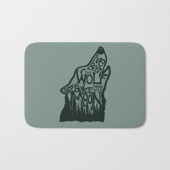 The Wolf Bath Mat