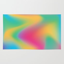 Holographic vibes Rug
