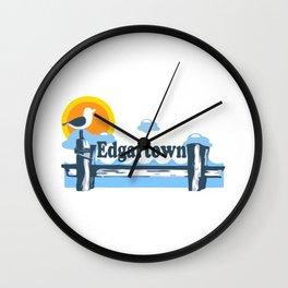 Edgartown - Martha's Vineyard. Wall Clock