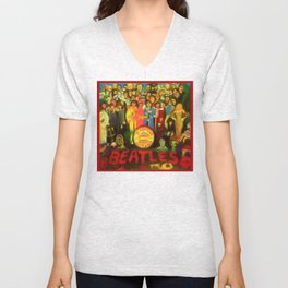 SGT PEPPER Unisex V-Neck