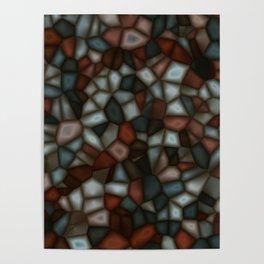 Fractal Gems 03 - Winter Moon Poster