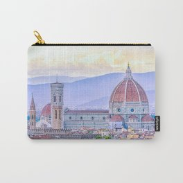 Cathedral of Santa Maria del Fiore  Florence Italy Carry-All Pouch
