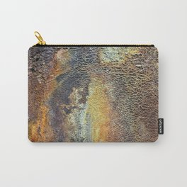 Oxidized Pattern Carry-All Pouch