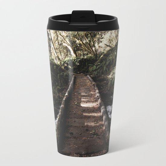 Hoh Rainforest River Trail Metal Travel Mug