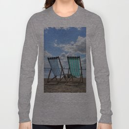 Deck Chairs HDR Long Sleeve T-shirt