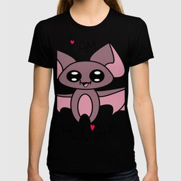 Yoru the kawaii bat who was afraid of the dark T-shirt