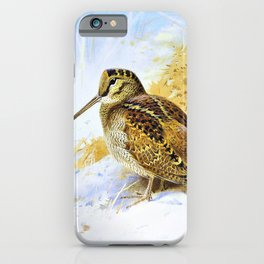Winter Woodcock - Digital Remastered Edition iPhone Case