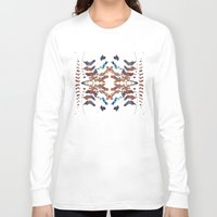 ethnic Long Sleeve T-shirts featuring Ethnic by Rui Faria