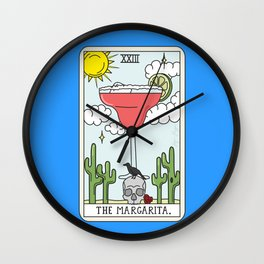 MARGARITA READING Wall Clock