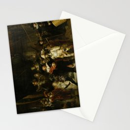 The Nightwatch, Rembrandt, 1642 Stationery Cards